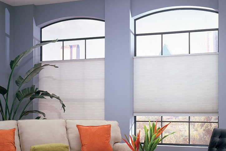 Premium Light Filtering Double Cellular Shades